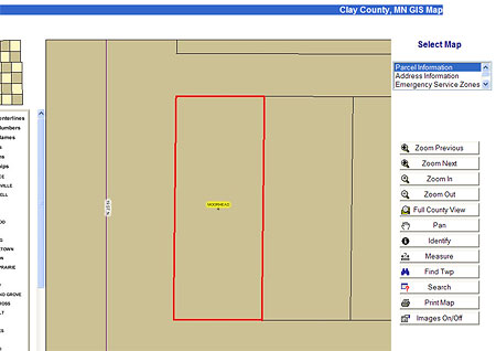 Clay County GIS Parcel Map